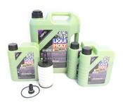 Mercedes Oil Change Kit 5W-40 - Liqui Moly Molygen 2761800009.8L.V1