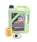 BMW 5W40 Oil Change Kit - Liqui Moly Molygen 11427640862KT1.LM