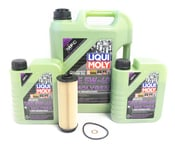 BMW Oil Change Kit 5W-40 - Liqui Moly Molygen 11428583898.LM1
