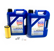 Mercedes Oil Change Kit 5W-40 - Liqui Moly 2751800009.10L