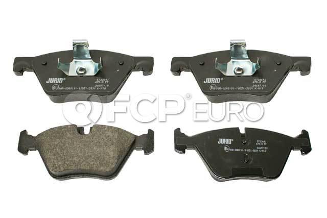 BMW Brake Pad Set - Jurid 34116872632