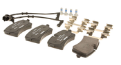 Audi Brake Pad Set - Textar 4H0698451M