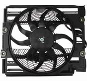 BMW A/C Condenser Fan Motor - Nissens 64548370993