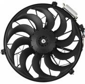 BMW A/C Condenser Fan Motor - Nissens 64541392913