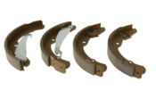 VW Drum Brake Shoe Set - Textar 5C0698545