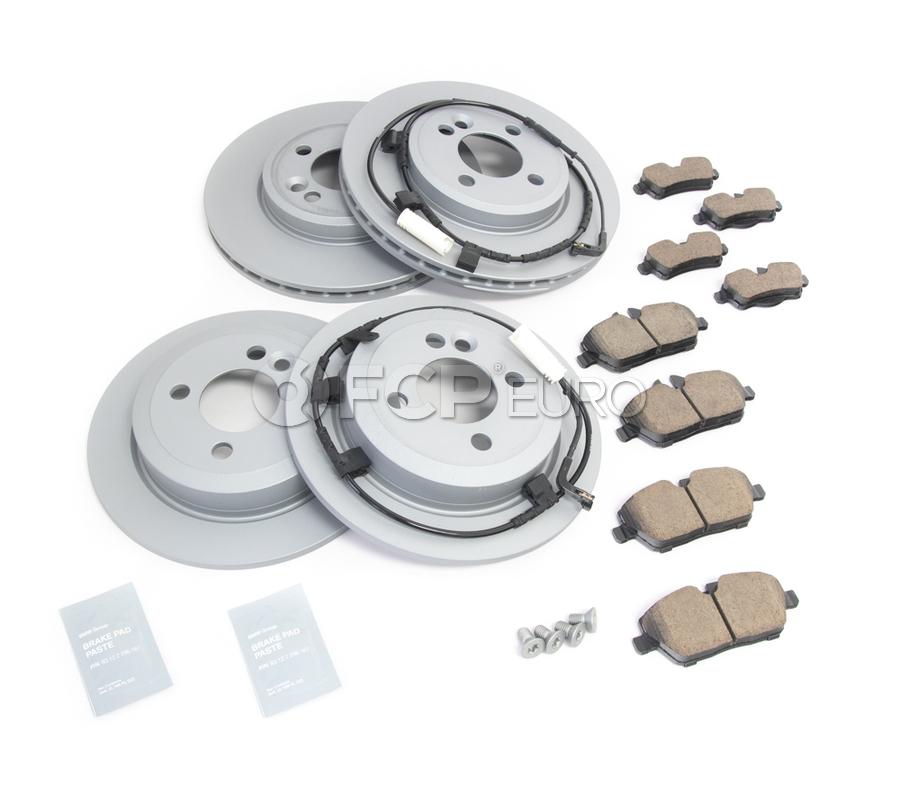 Mini Brake Kit - Zimmermann/Akebono 34116858651KTFR