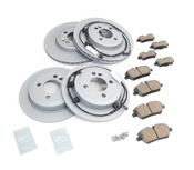 Mini Brake Kit - Zimmermann/Akebono 34116858651KTFR