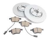 Audi VW Brake Kit - Zimmermann/Akebono 8E0615301RKT