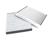 BMW Charcoal Cabin Air Filter Set - Mahle LAK467S