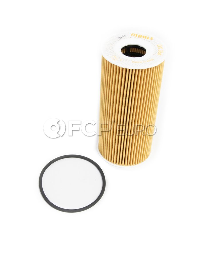 Porsche Engine Oil Filter Kit - Mahle OX366D