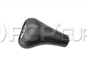 BMW Shift Knob Black Leather - Genuine BMW 25111221284