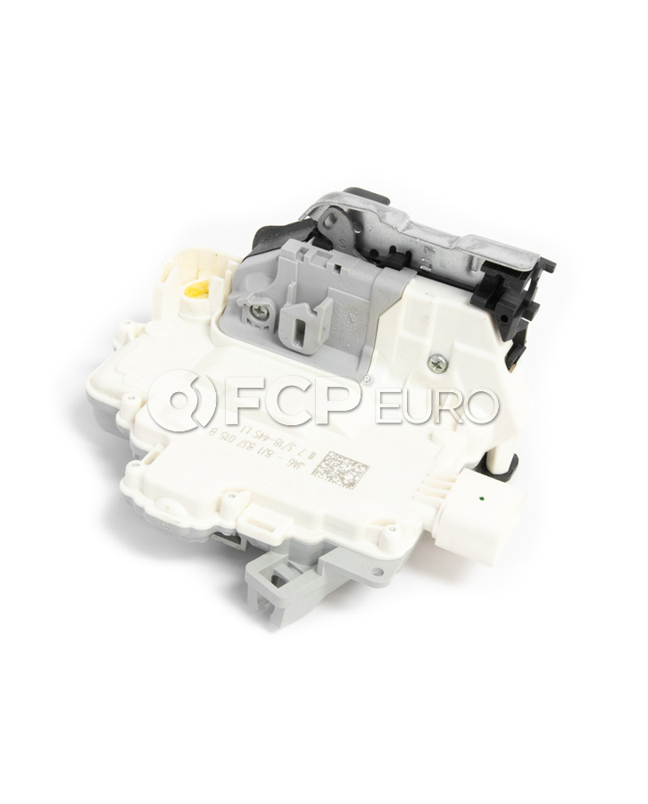 VW Audi Door Lock Actuator Motor Front Left - Genuine VW Audi 8J1837015B