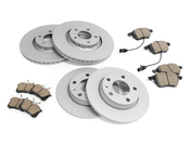 Audi VW Brake Kit - Zimmermann/Akebono  8E0615601QKT2