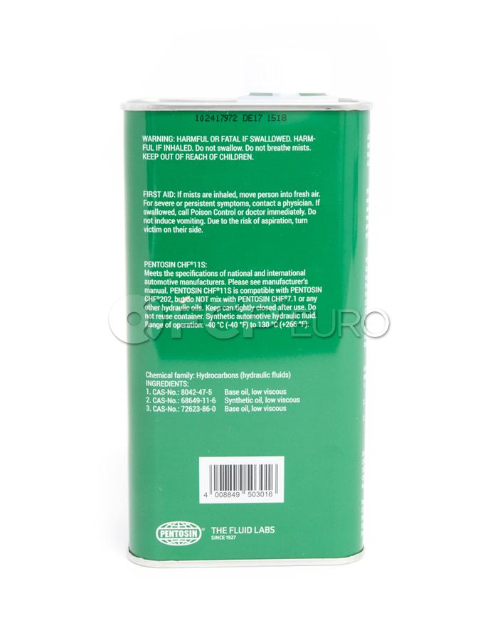 chf 11s hydraulic system fluid 1 liter pentosin 1405116 fcp euro chf 11s hydraulic system fluid 1 liter pentosin 1405116