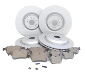 Mercedes Brake Kit - Zimmermann 1644210712