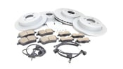 Mini Brake Kit - Zimmermann/Akebono 34116858652KTFR
