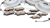 Mini Brake Kit - Zimmermann/Akebono 34116858652KTFR