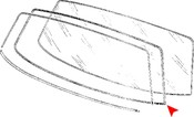 BMW Windshield Seal - Genuine BMW 51311822185