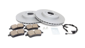 Mini Brake Kit - Zimmermann/Akebono 34116858652KTFR2