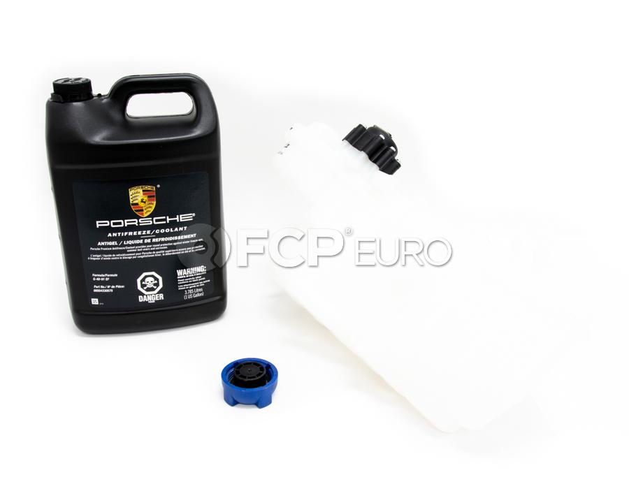 Porsche Expansion Tank Kit - Blau/Genuine Porsche KIT-99610615704KT