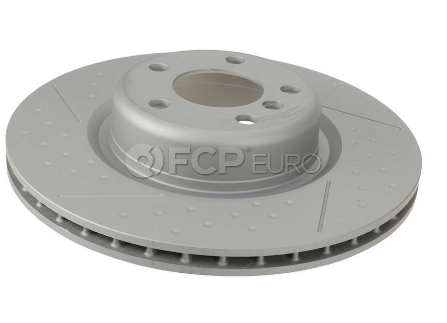 BMW Brake Disc - Zimmermann 34206797598