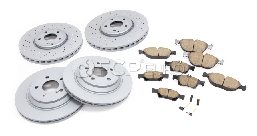 Mercedes Brake Kit - Akebono 2204211812