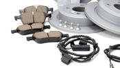 Mini Brake Kit - Zimmermann/Akebono 34111502891KTFR