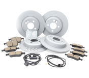 BMW Brake Kit - Zimmermann/Akebono 34116774984KTFR