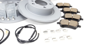 Mini Brake Kit - Zimmermann/Akebono 34119811537KTFR