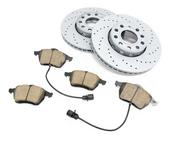 Audi VW Brake Kit - Zimmermann Sport KIT-8E0615301QKT