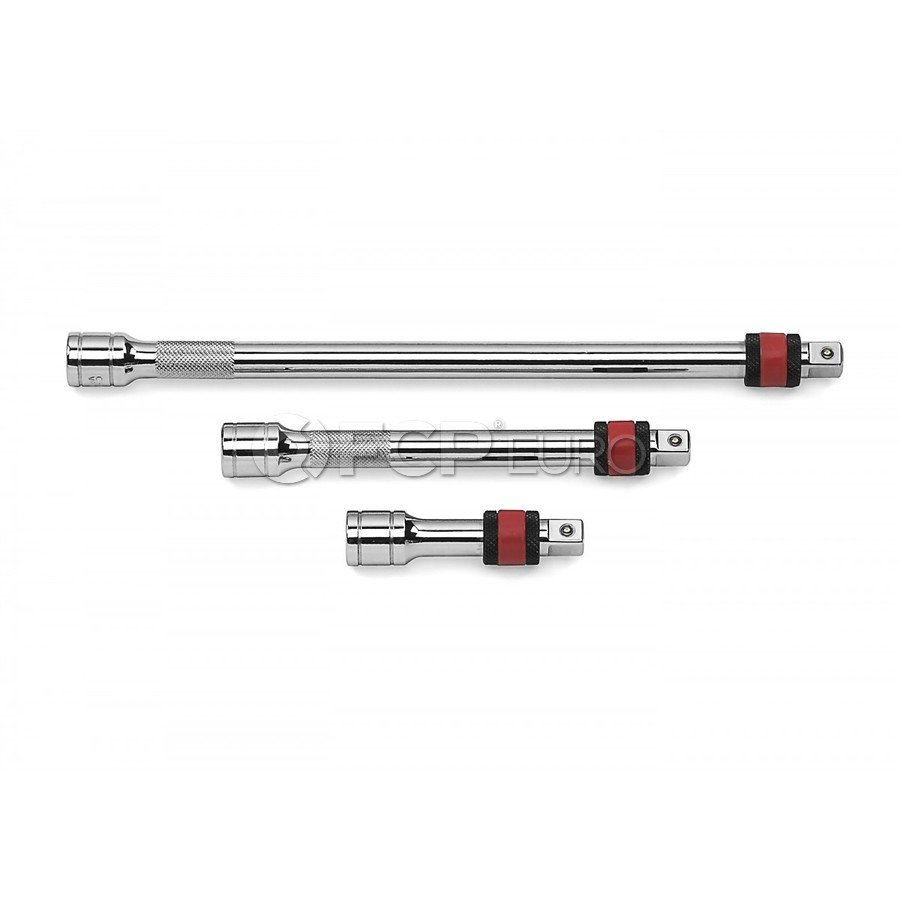 """3 Pc. 1/2"""" Drive Locking Extension Set 3"""", 5"""" & 10"""" - Gearwrench 81302"""
