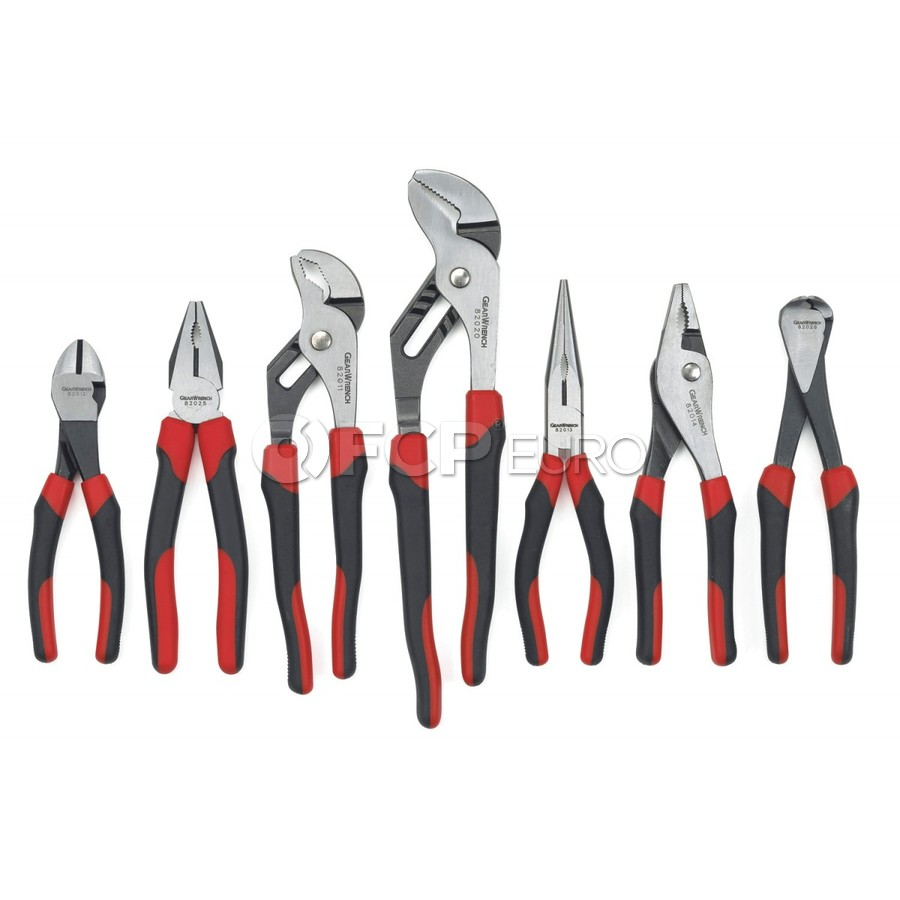 7 Pc. Mixed Dual Material Plier Set - Gearwrench 82108