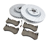 Mercedes Brake Kit - Zimmermann 1664210512