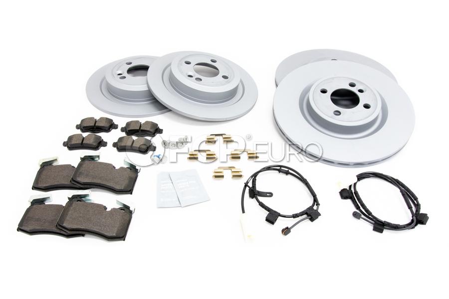 Mini Brake Kit - Zimmermann/Textar 34116855781KTFR1