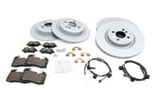 Mini Brake Kit - Zimmermann/Textar 34116855781KTFR1