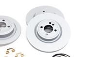Mini Brake Kit - Zimmermann/Textar 34116855781KTFR