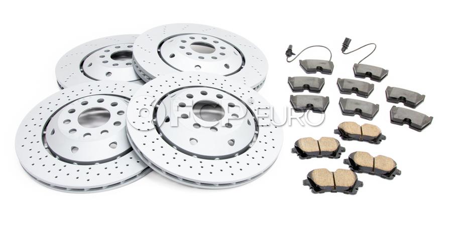 Audi Brake Kit - Zimmermann 4B3615602AKT2