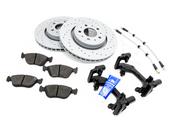 Volvo Big Brake Upgrade Kit 302MM - Zimmermann / Akebono KIT-509393