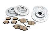 Audi Brake Kit - Zimmermann Sport/Akebono 8J0615601AKT2