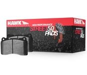 Audi Brake Pad Set - Hawk HB609B.572