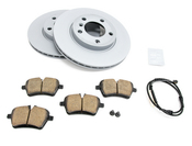 Mini Brake Kit - Zimmermann/Akebono 34119811537KTF