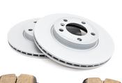 Mini Brake Kit - Zimmermann/Akebono 34119811537KTF