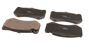 Mercedes Brake Pad Set - TRW 0064200720