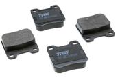 Saab Brake Pad Set - TRW 90487271