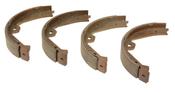 Porsche Parking Brake Shoe Set - TRW GS8776