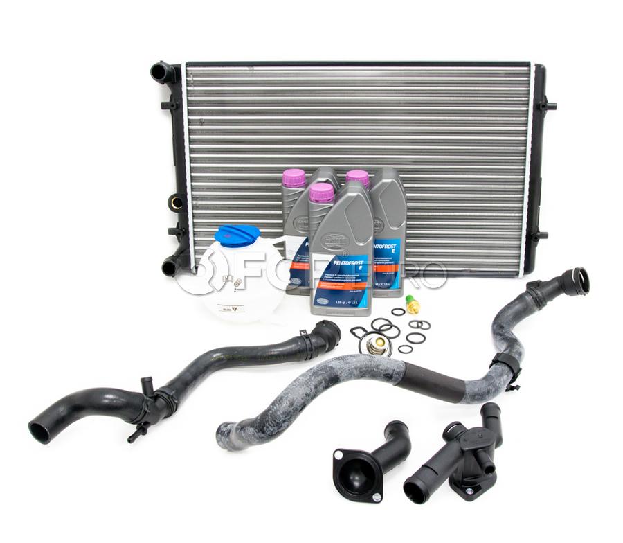 VW Cooling System Kit - Nissens KIT-1J0121253ADKT2