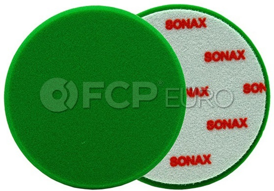 Green Medium Polishing Pad 160 mm - SONAX 493000