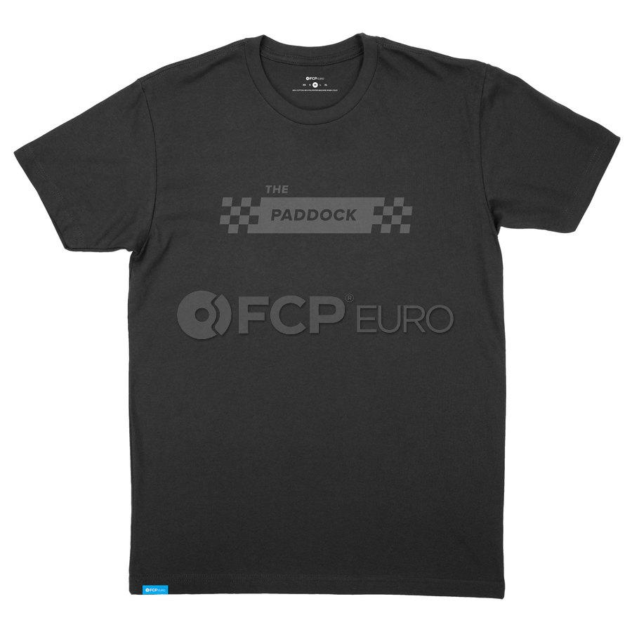 T-Shirt (Black) Extra Small - FCP Euro 577210