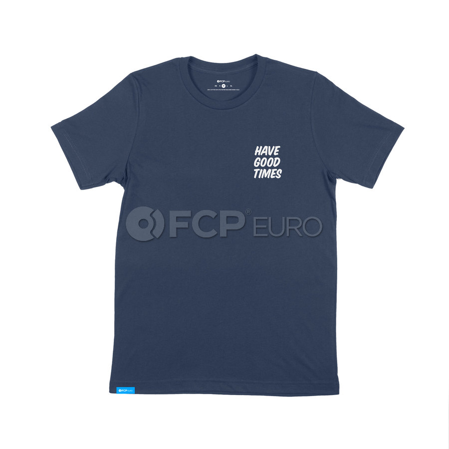 Have good times, build cool cars T-Shirt (Midnight Navy) Extra Small - FCP Euro 577182