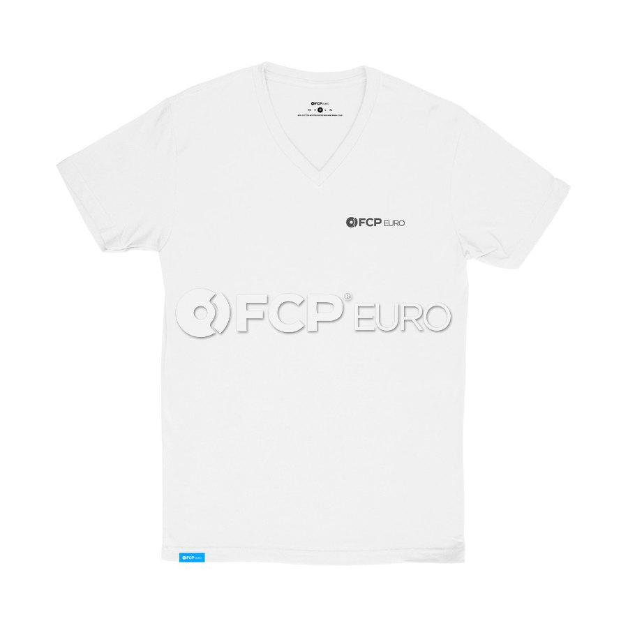 V-Neck T-Shirt (White) Large - FCP Euro 577246